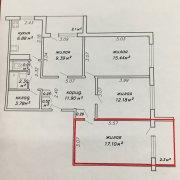 Продается комната в 4-х комнатной квартире, ул. Лобанка д.13-1