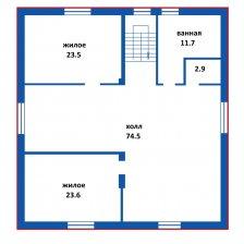 Продам дом, д. Пережери. Цена 279 357 руб