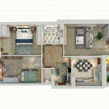 Готовые квартиры в ЖК «Променад». Рассрочка до 3-х лет. Лизинг от 9%