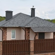 Современный Дом-Шале напротив леса!