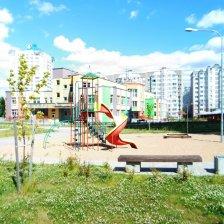 Однокомнатная квартира - на улице Алибегова в Минске