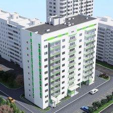 Группа многоквартирных жилых домов с помещениями общественного назначения и подземной гараж-стоянкой