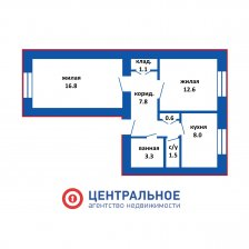 Купить 2-х комнатную квартиру на проспекте Независимости 53, г. Минск