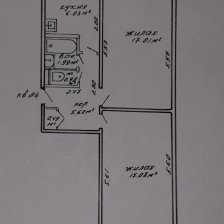 Продажа 2-х комнатной квартиры, г. Минск, ул. Седых, дом 48 (р-н Седых, Тикоцкого). Цена 112 811 руб