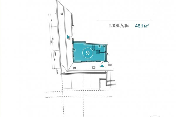 Продажа помещения 48,1 м.кв. в премиальном ЖК «Аквамарин» (рн. Нац. библиотеки)