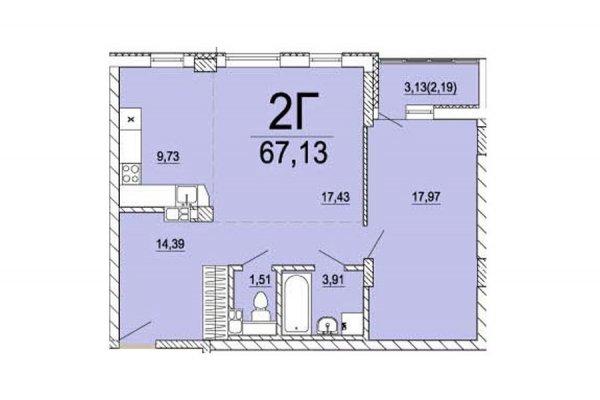 Сегодня мечты— завтра ключи! 93% готовности жилого комплекса, квартиры под чистовую отделку!