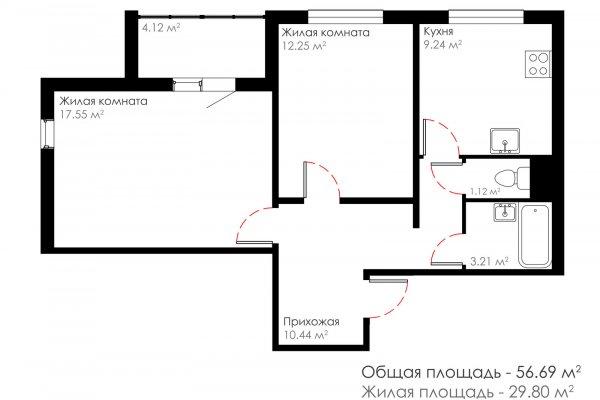 Программа «Доступное жилье»: Железнодорожная, д. №4 по г.п.