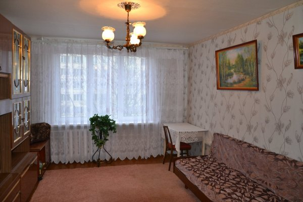Однокомнатная квартира на улице Симонова