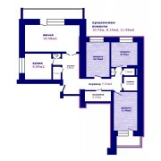 Продается комната в 4-х комнатной квартире, ул. Червякова д.23