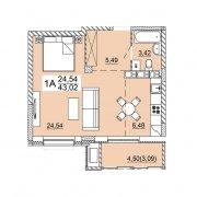 Продается 1 комнатная квартира, ул. Нововиленская
