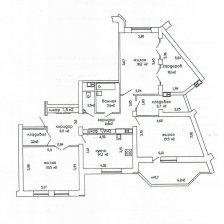 Купить 3-х комнатную квартиру на улице Гвардейская 1, г. Минск