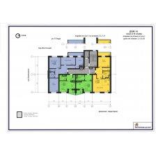 дом № 10, план 2-9 этажа