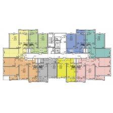 план этажа дома № 8 по улице Академика Карского