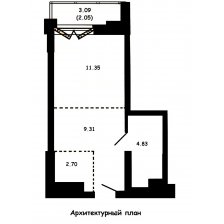 Купить 1-х комнатную квартиру на улице Братская 12, г. Минск