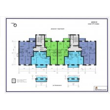 дом№ 9, план 2-9 этаж