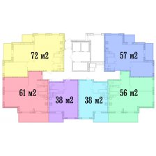 Новый монолитно-каркасный дом №35 вЖК