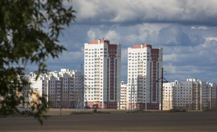 Новостройка в городе Гродно